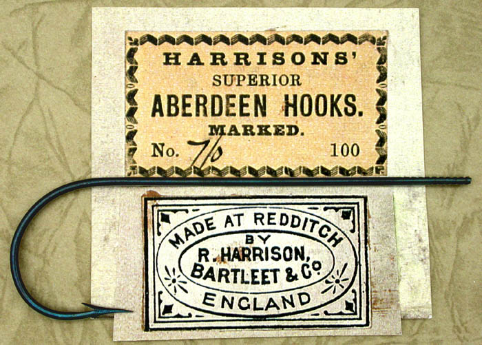Harrisons', Aberdeen, 7/0, blued, marked. From the Reinhold collection.