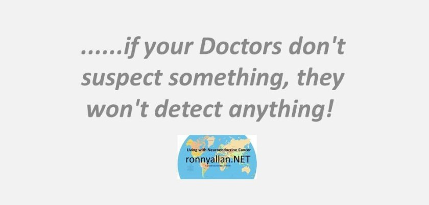 if your doctors dont suspect something