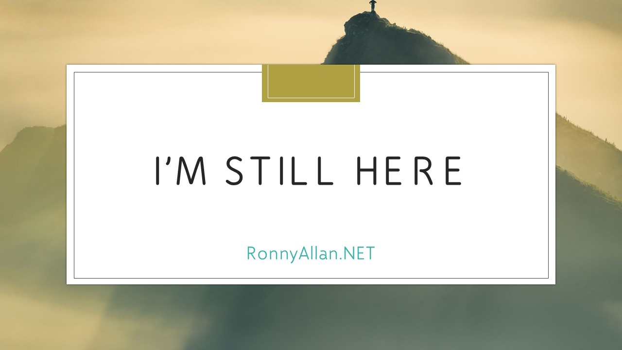 Ronny Allan – Living with Neuroendocrine Cancer