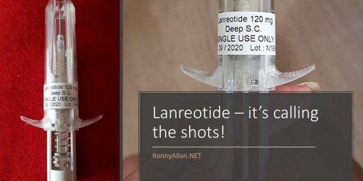 Lanreotide – it's calling the shots!