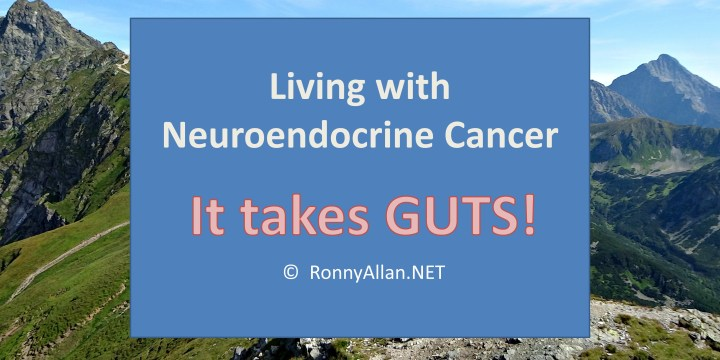 Neuroendocrine Cancer – it takes guts