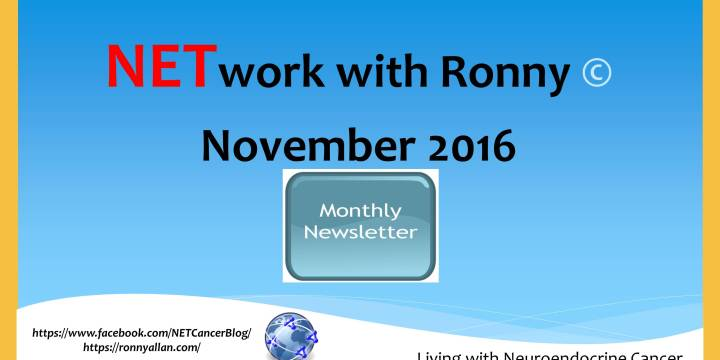 NETwork with Ronny © – Newsletter November 2016