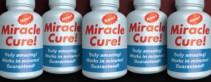 miracle cure banner