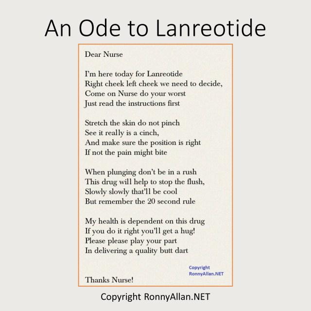 An Ode to Lanreotide
