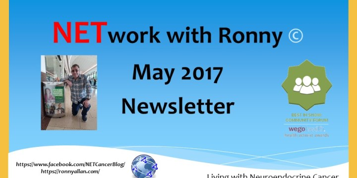 NETwork with Ronny © – Community Newsletter MAY 2017