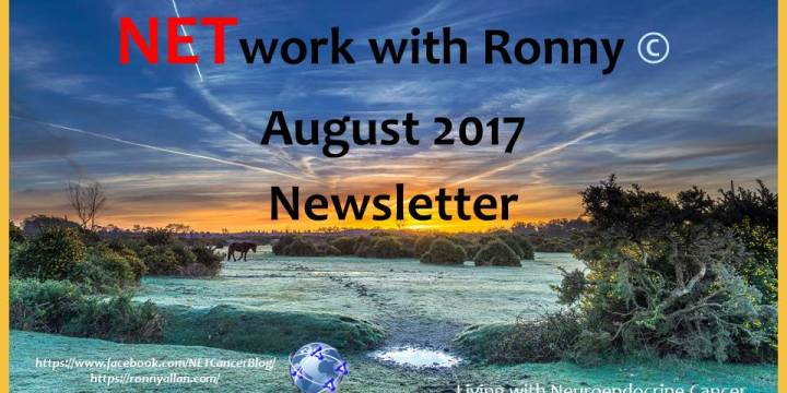 NETwork with Ronny © – Community Newsletter AUGUST 2017