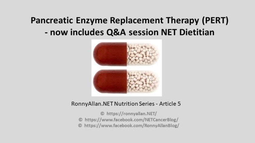 Neuroendocrine Cancer and Pancreatic Enzyme Replacement Therapy ...