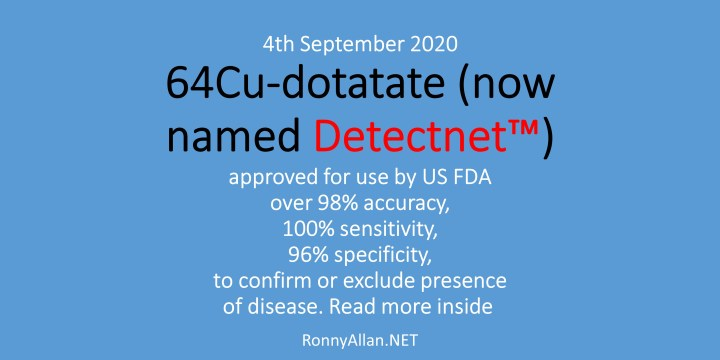 Detectnet™ (64Cu-DOTATATE) – an expansion of the Somatostatin Receptor PET Imaging for Neuroendocrine Cancer