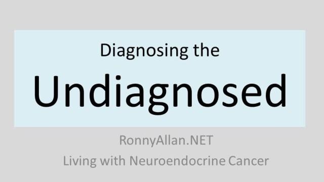 Diagnosing the undiagnosed