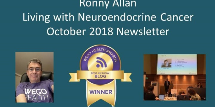 RonnyAllan.NET – Community Newsletter Covering October 2018