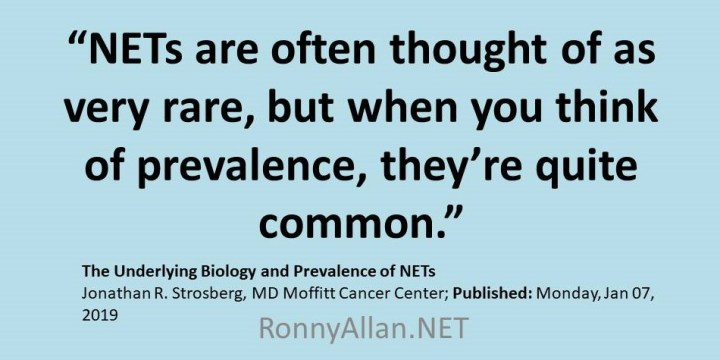Neuroendocrine Neoplasms – not as rare as you think