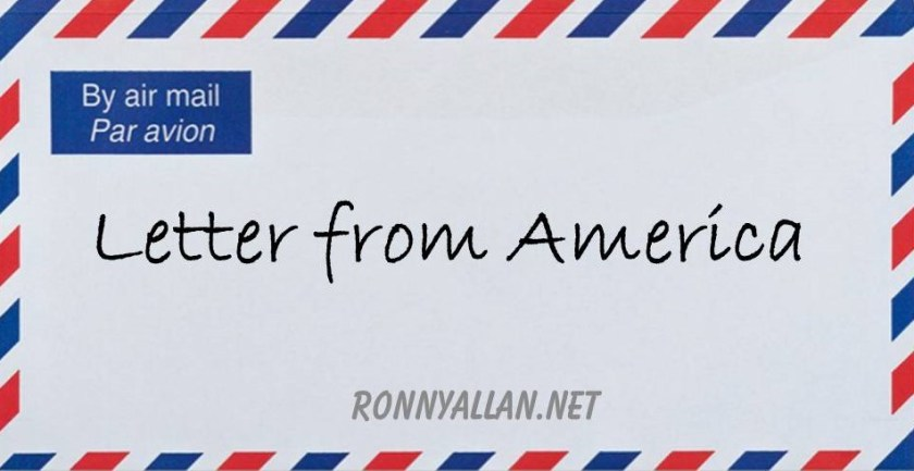 letter from america envelope