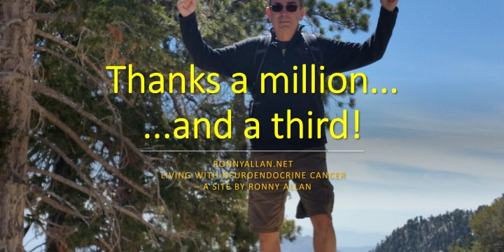 Thanks a MILLION (…and a third) !