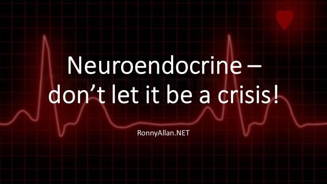 dont let it be a crisis