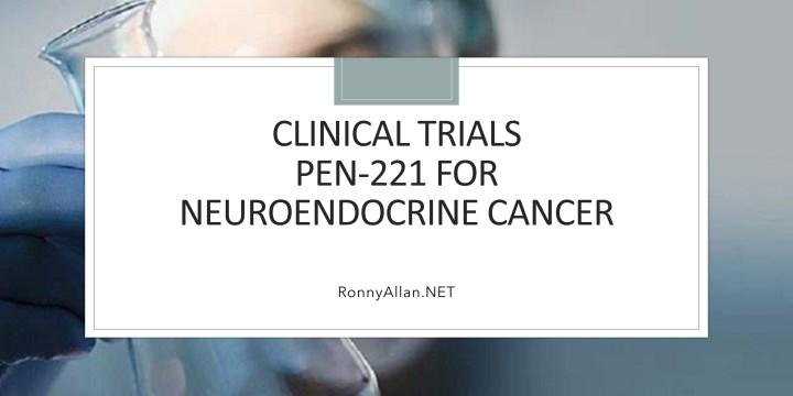 Clinical Trials – PEN-221 for Neuroendocrine Cancer