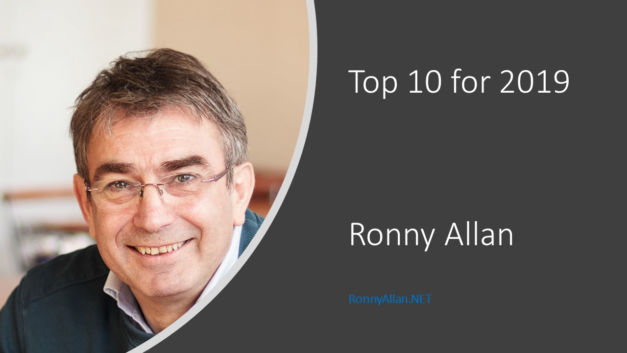 Ronny Allan – Top 10 for 2019 – Neuroendocrine Cancer