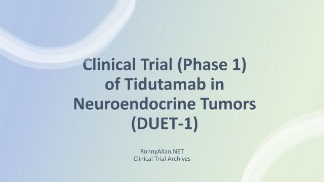 clinical trial TIDUTAMAB