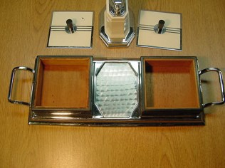 Wood lined cigarette boxes