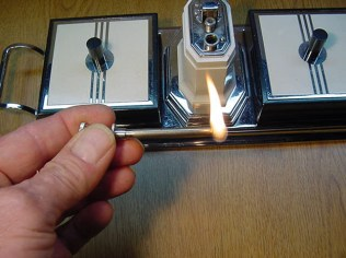 Lighter and cigarette box