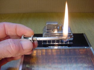 Lighter in working condition