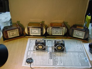 antique table touch tip cigarette lighters with watch