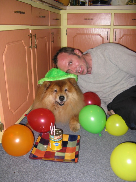 Q's 15th birthday. Oct. 2009