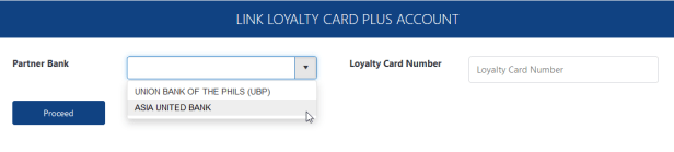 linking AUB Loyalty Card Plus cash card to Virtual Pag-IBIG