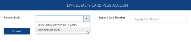 linking AUB Loyalty Card Plus cash card to Virtual Pag-IBIG