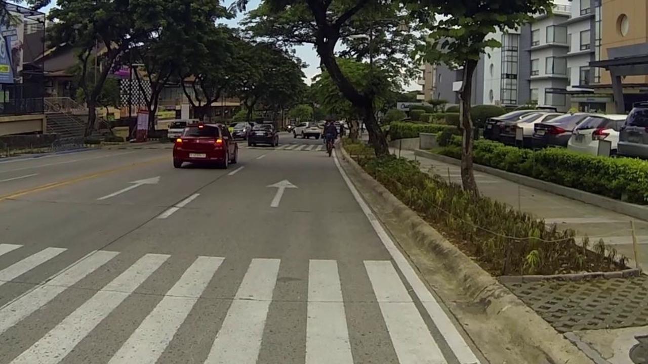 Portion of Tiendesitas road