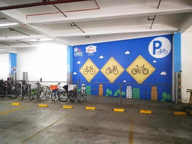 SM Cherry Antipolo Bike Rack