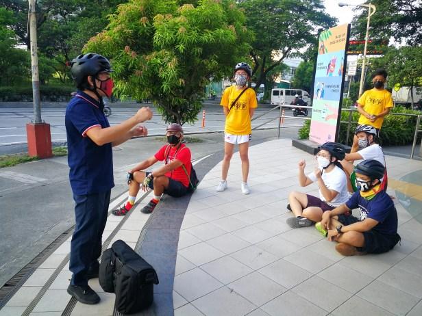 SM Ride Briefing at SM Center Pasig