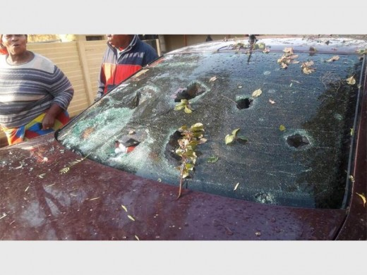 Video and Photos: Bloemfontein freak hail storm and your ...