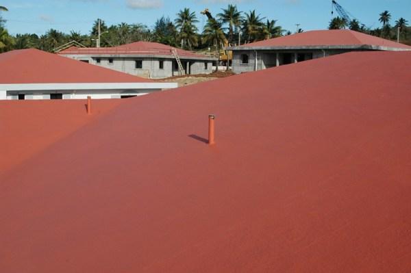 акриловая изоляция кровли купить RoofCoat Pro, технология ...