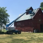 Manteno, IL barn steel roof repair
