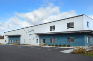 The 35,000-square-foot AgroChem manufacturing facility in Saratoga Springs, N.Y.