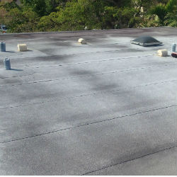 flat roof leak repair Huntsville Alabama 35897