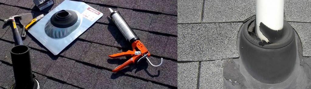roof vent pipe repair Ward 36922