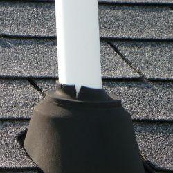 roof vent pipe leak repair