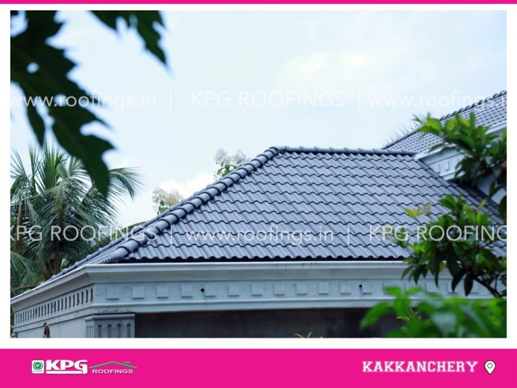 grey roof tile beautiful view