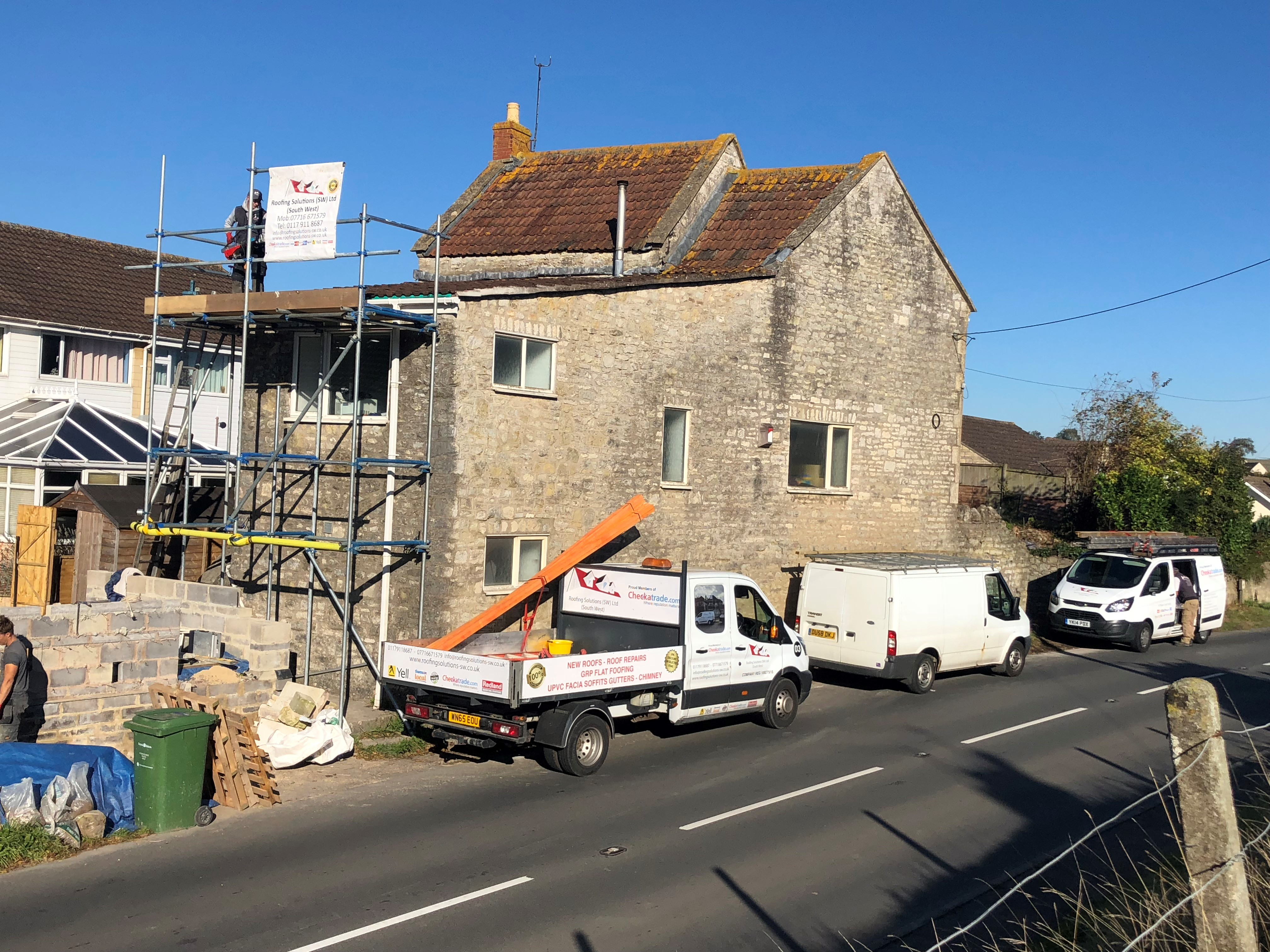 Low Pitch Roof Replacement In Bath Roofing Solutions Sw Ltd South West