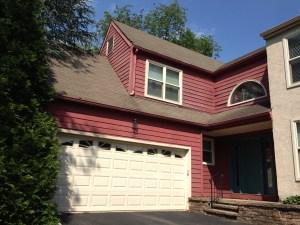 garage shingle roof