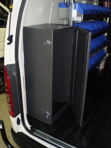oxygen acetylene sealed bottle box 420x380x950mm