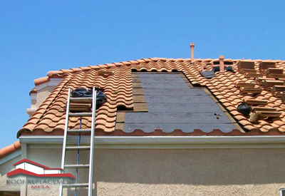 mesa roof replacement