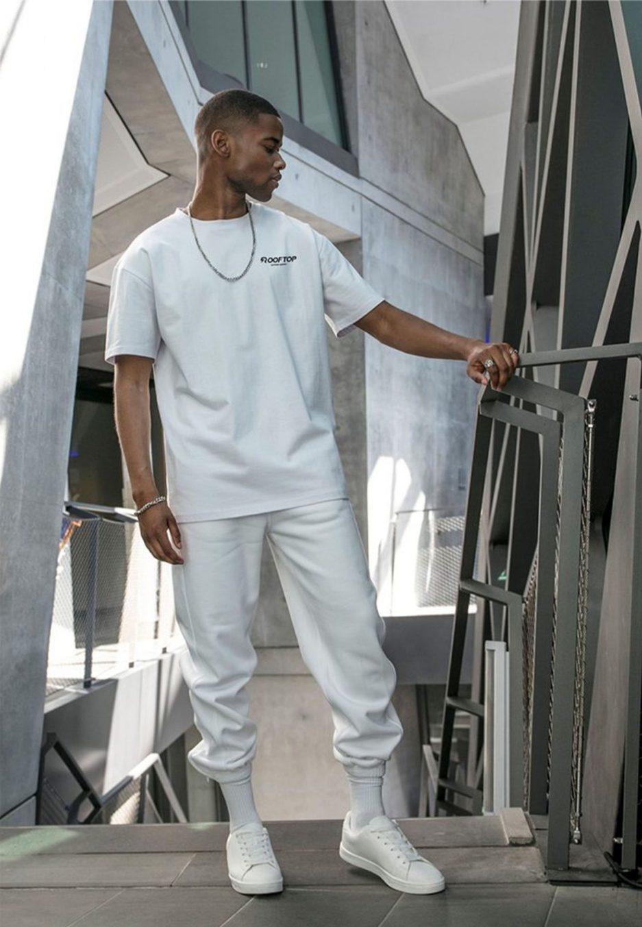 Oversize Shirt Rooftop Basic White