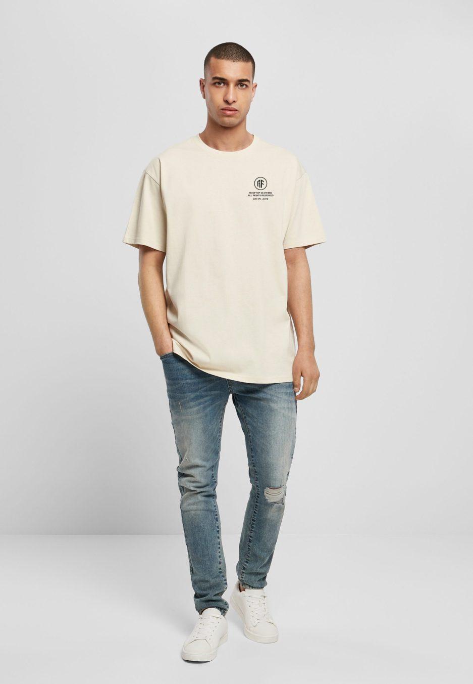 Oversize Shirt Worldwide Sand