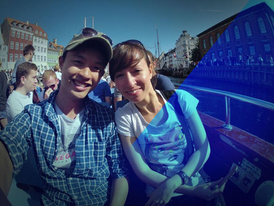 Kheesuan who I met in Copenhagen 2013 through couchsurfing