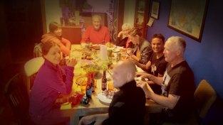 Dinner at Norðurstjarnan Guest House in Reykjavik