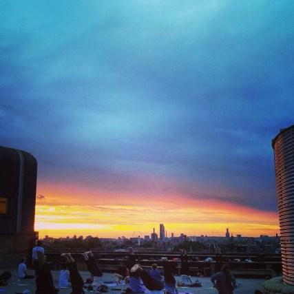 Sybille Gebhardt at Rooftop Yoga Peckham 4