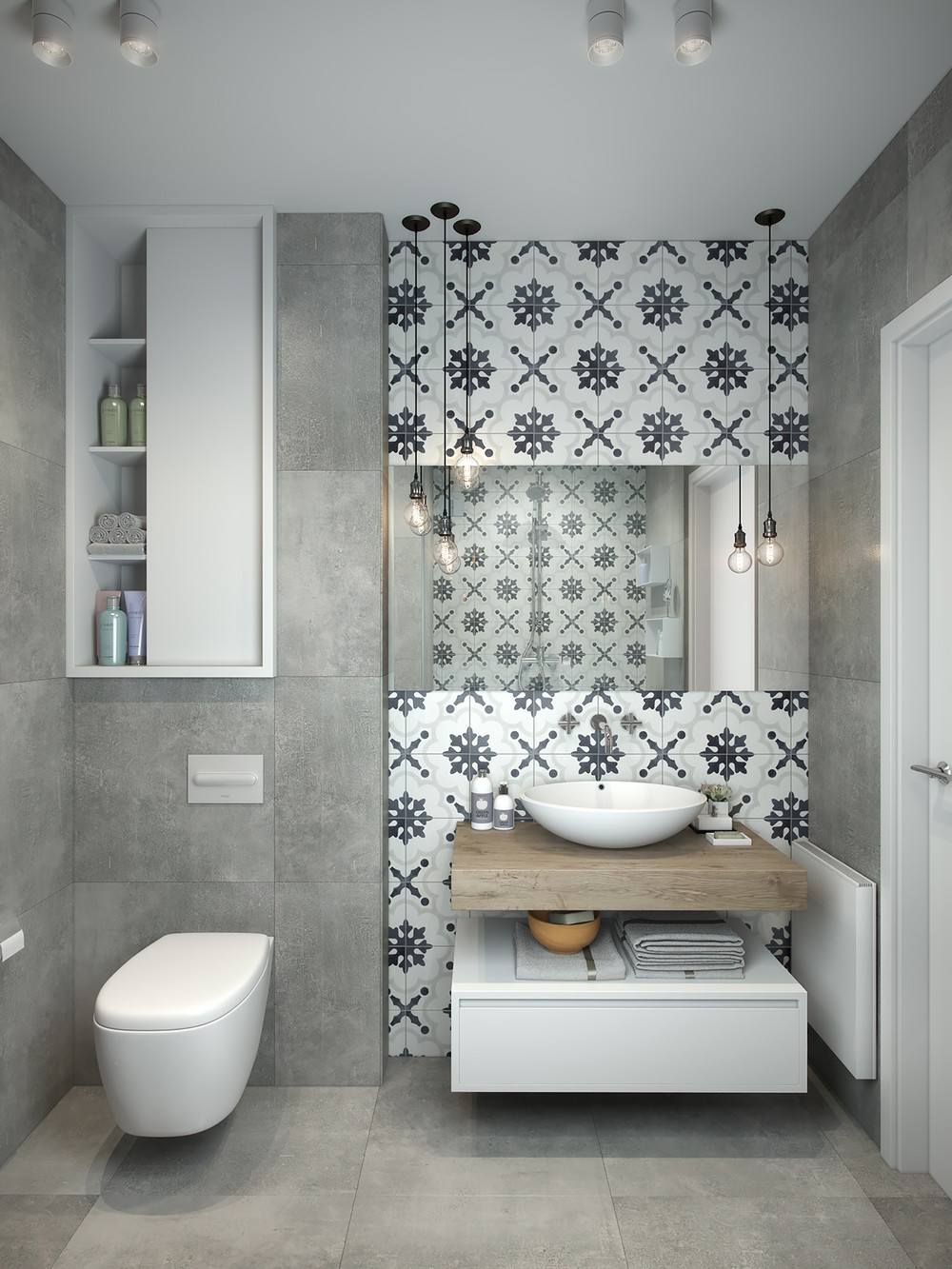 How To Decorate Simple Small Apartment Design Become Looks ... on Bathroom Ideas Apartment  id=42047