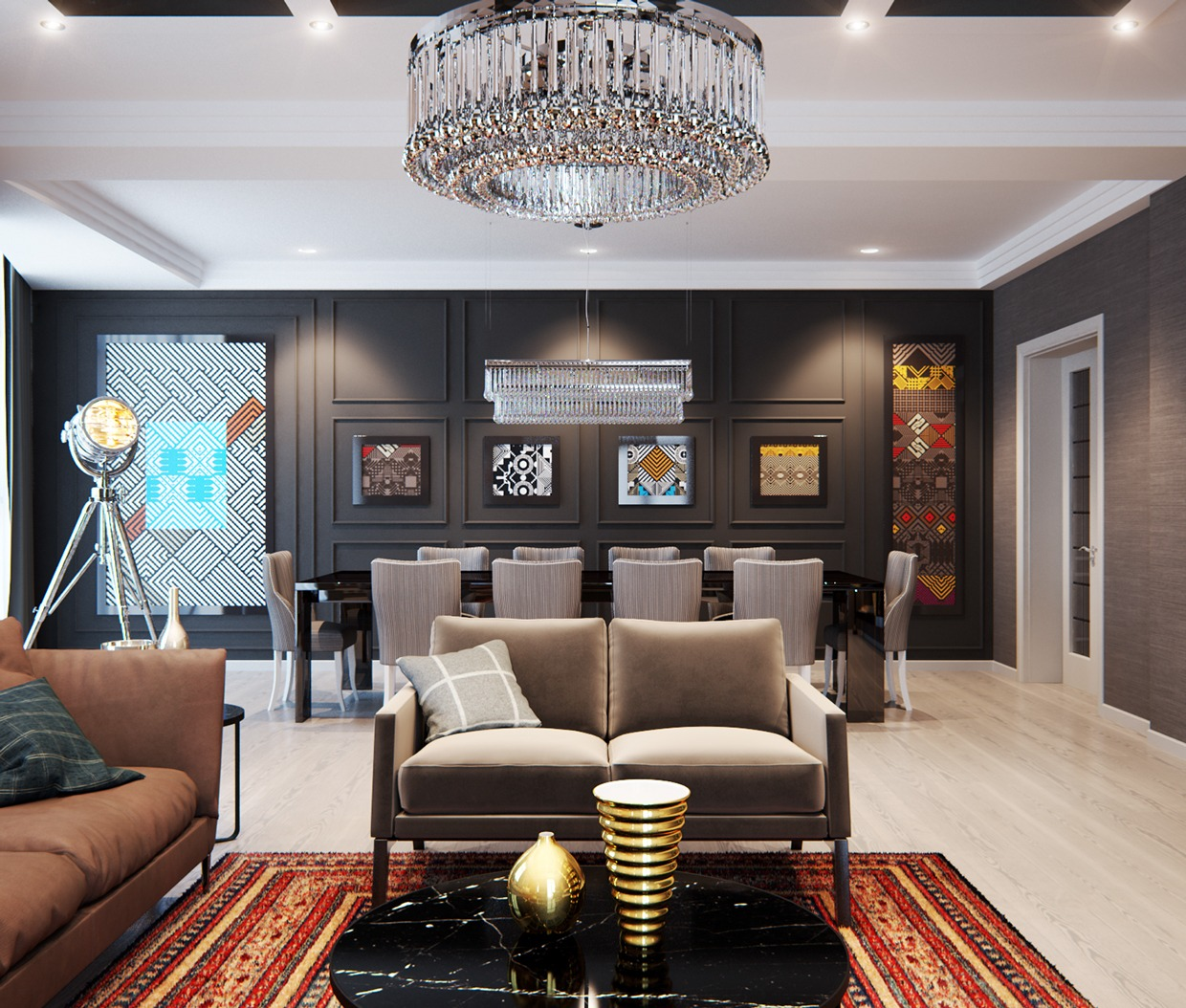 A Modern Interior Home Design Which Combining a Classic ... on Modern House Ideas Interior  id=96915